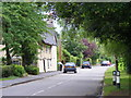 TL5349 : Church Lane, Little Abington,  looking east from near St Mary's church by Derek Voller