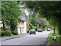 TL5349 : Church Lane, Little Abington,  looking east from near St Mary's church by Derek Voller