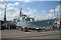 TQ7569 : HMS Cavalier & Destroyer, Dry Dock Number 2, Chatham Dockyard, Kent by Oast House Archive