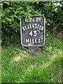 SP8927 : 43 Miles to Braunston by Mike W Hallett