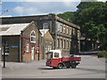 TQ7569 : Milk Float at Chatham Historic Dockyard : Week 24