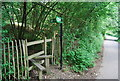 TQ6441 : High Weald Landscape Trail  leaves Bramble Reed Lane by N Chadwick