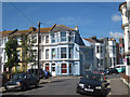 TQ8109 : Terraced Houses on St Andrew's Square, Hastings by Oast House Archive