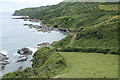 SX1651 : Lanteglos: above Palace Cove by Martin Bodman