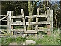 SE0630 : Stile into Ogden Plantation, Ovenden by Humphrey Bolton