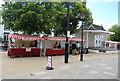 TQ5838 : Farmers Market, The Pantiles by N Chadwick
