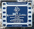Photo of Whisky Galore! and Alexander Mackendrick film cell plaque