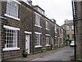 SE0838 : Hardhill Houses - off Wilsden Road by Betty Longbottom