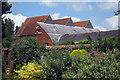 SU7743 : Oast House at Crocks Farm, Main Road, Bentley, Hampshire by Oast House Archive