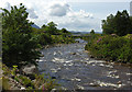 NG9055 : The River Torridon heads for the sea by Nigel Brown