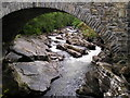 NH8504 : River Feshie at Feshiebridge : Week 26