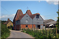 TR2760 : Unconverted Oast House at Hoaden Court, Hoaden, Ash, Kent by Oast House Archive