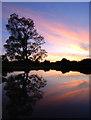 TM3860 : Sunset at Marsh Farm by Dave Croker
