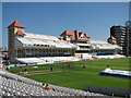 SK5838 : Trent Bridge Cricket Ground: the Radcliffe Road Stand by John Sutton