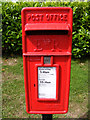 TM3863 : Rendham Postbox by Adrian Cable