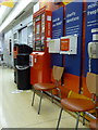 SZ0190 : Poole: postbox № BH15 ??,within Sainsbury's by Chris Downer