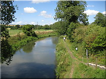 SU0363 : Kennet and Avon Canal at Horton Bridge by Nigel Cox