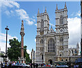 TQ2979 : Westminster Abbey and War Memorial, London by Christine Matthews