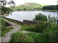 SJ9571 : Across Ridgegate Reservoir towards Tegg's Nose by Chris Wimbush