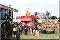 SW4026 : A steam threshing display by Rod Allday