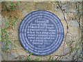 Photo of Winston Churchill stone plaque