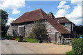 TQ8233 : Oast House at Mount Hall Farm, Stepneyford Lane, Benenden, Kent : Week 31