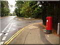 SZ0589 : Canford Cliffs: postbox № BH13 311, Western Road by Chris Downer