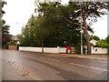 SZ0589 : Canford Cliffs: postbox № BH13 205, Canford Cliffs Road by Chris Downer