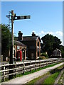 SJ3377 : Hadlow Road Station, Willaston by El Pollock