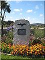 SW5537 : Memorial to Cyril Richard 'Rick' Rescorla by Rod Allday