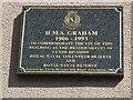 NS5664 : HMS Graham Plaque by Jim Smillie