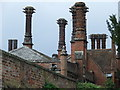 TM0242 : Ornate Chimneys by Keith Evans