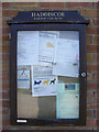 TM4496 : Haddiscoe Village Notice Board by Adrian Cable