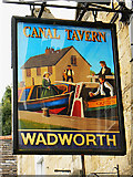 ST8260 : Pub sign, Canal Tavern, Bradford on Avon by Brian Robert Marshall
