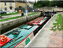 ST8260 : Canal boat on the way down the Kennet and Avon canal (7) by Brian Robert Marshall