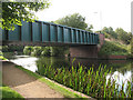 TL3706 : Road bridge over the Lea Navigation at Nazeing by Stephen Craven