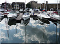 TQ3480 : St Katharine Docks, London E1 by Christine Matthews