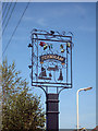 TQ9562 : Teynham Village Sign by Oast House Archive