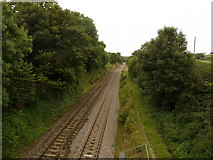 SU2363 : Durley - Railway Line by Chris Talbot