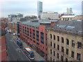 SJ8497 : View along Portland Street, Manchester : Week 33