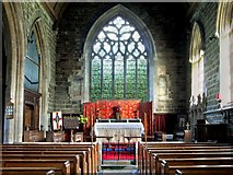 TF3465 : Interior of the Church of St Peter & St Paul, Old Bolingbroke by Dave Hitchborne