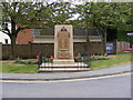 TM3055 : Wickham Market War Memorial by Adrian Cable