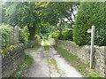 SE0025 : Footpath off Nest Lane, Mytholmroyd by Humphrey Bolton