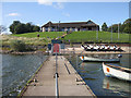 ST5660 : Woodford Lodge, Chew Valley Lake by Pauline E