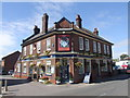 TQ7164 : The Watermans Arms, Wouldham by Chris Whippet