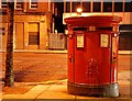 J3474 : Pillar box, Belfast by Albert Bridge