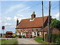 TF5061 : The Chequers Inn, Lymn Bank by Dave Hitchborne