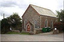 SW9941 : Boswinger Methodist Church by Tony Atkin