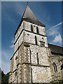 TQ2953 : St Katharine's church Merstham: tower by Stephen Craven