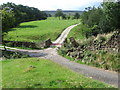 SE0848 : Paths near Gate Croft by Chris Wimbush